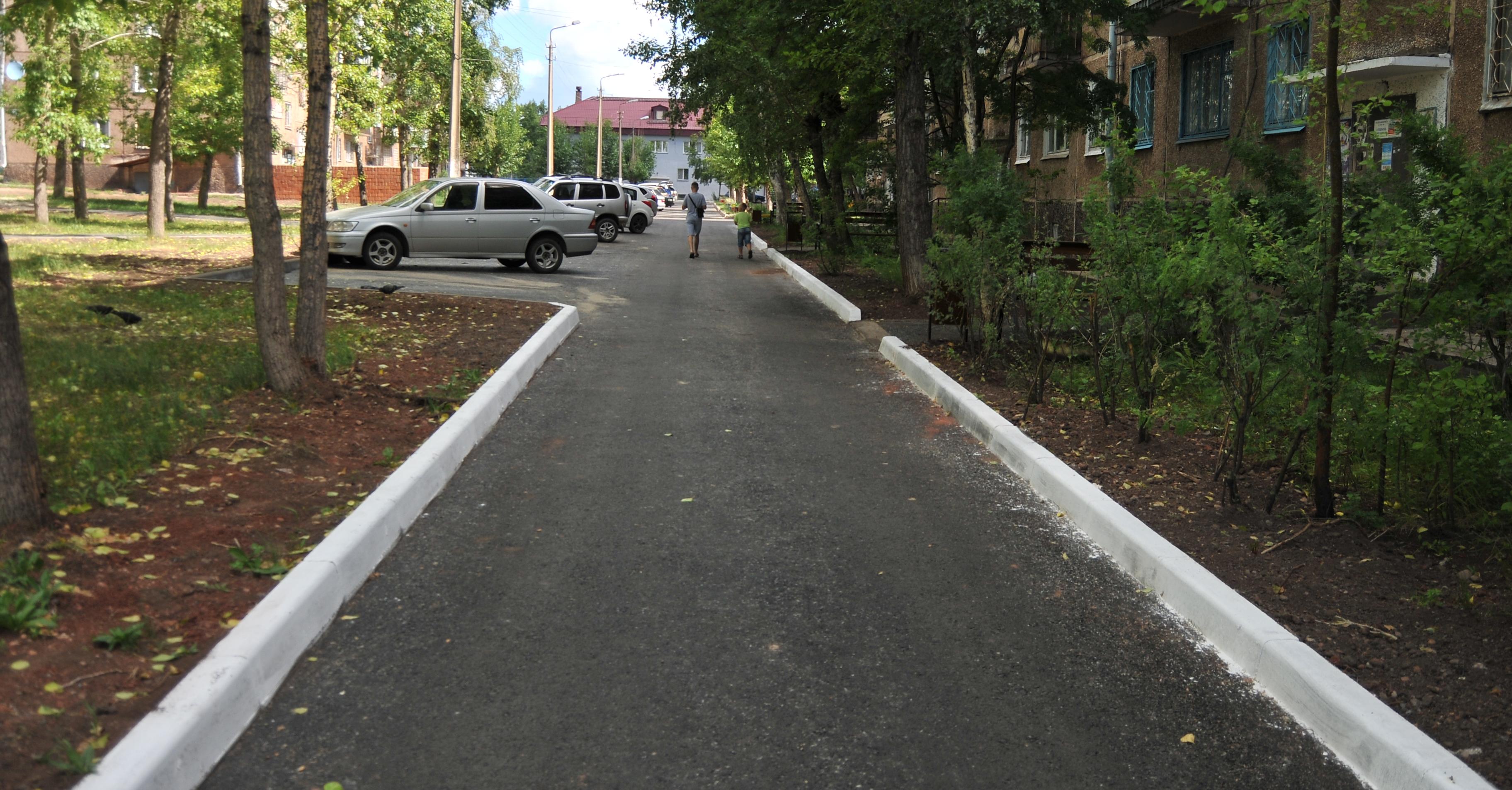 Комиссия приняла благоустройство двора по ул. Мира, 37А, 39А и 39Б