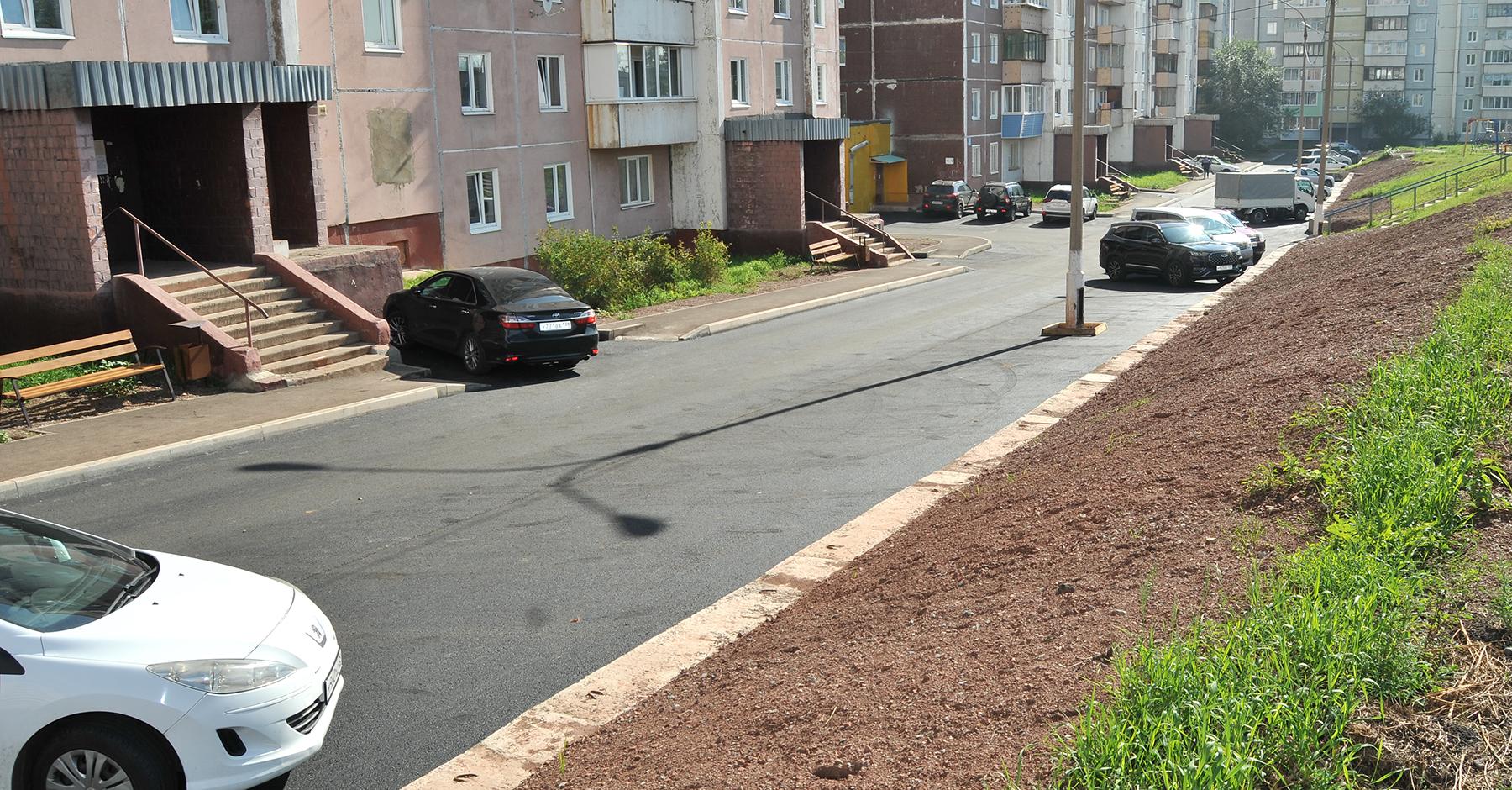 Закончено благоустройство по ул. Советская, 22 - 28